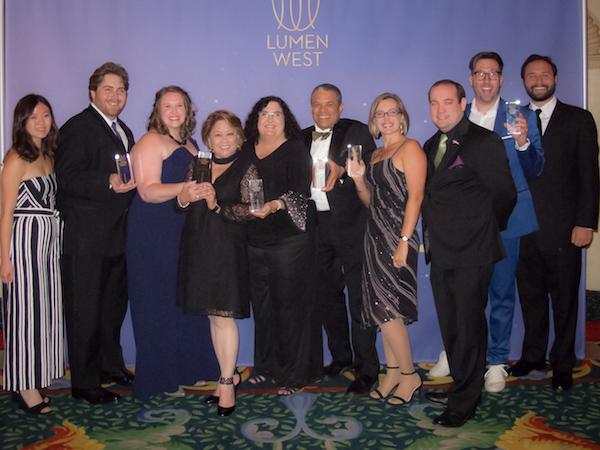 Visual Terrain at Lumen West Awards